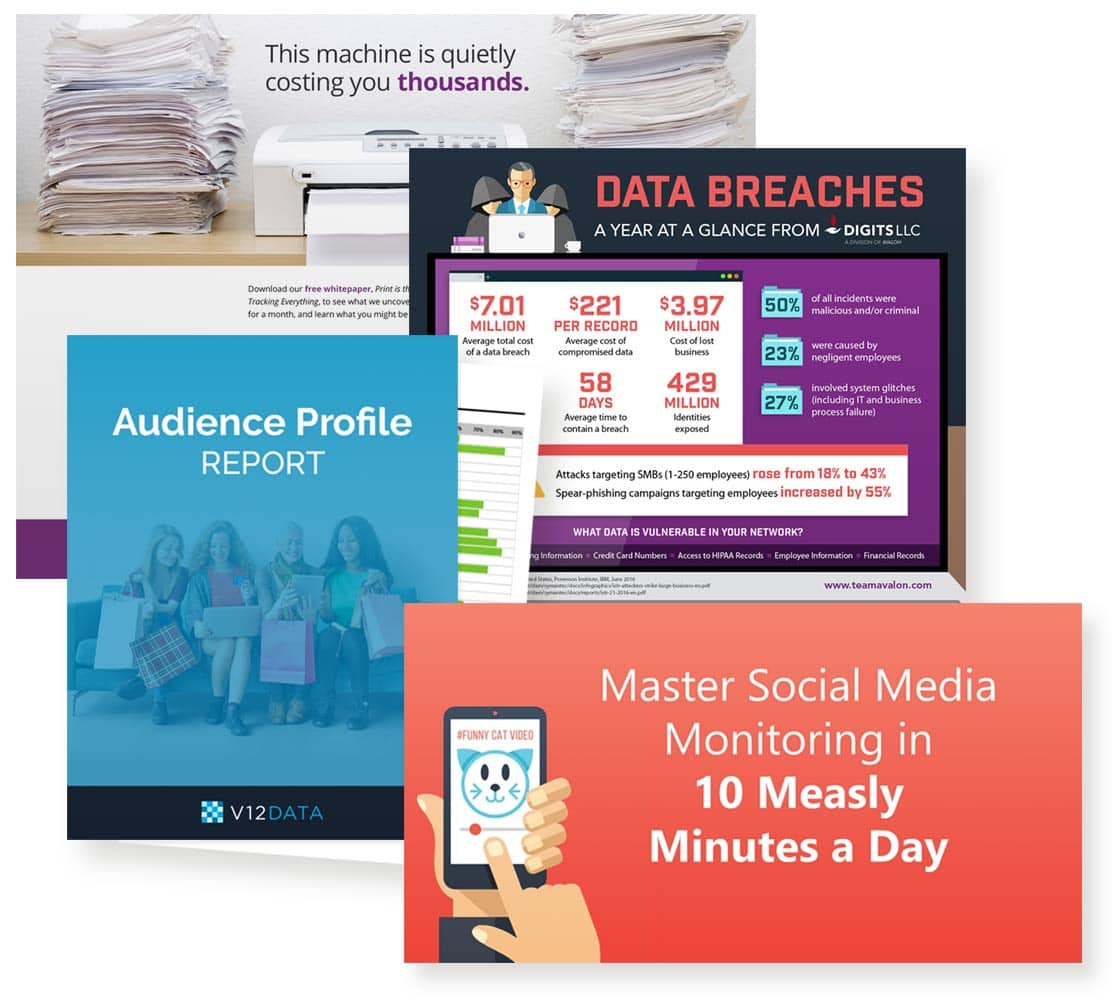 Inbound marketing materials