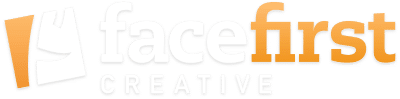 face first creative logo