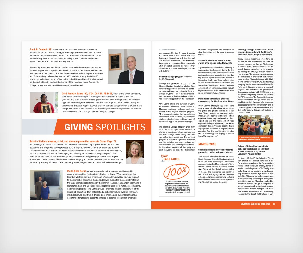 Syracuse University Newsletter