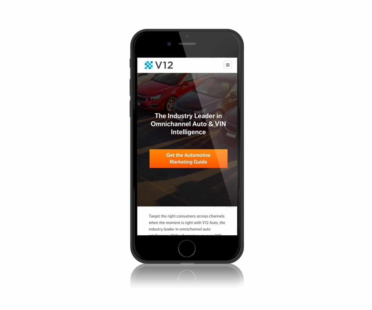 v12 mobile site
