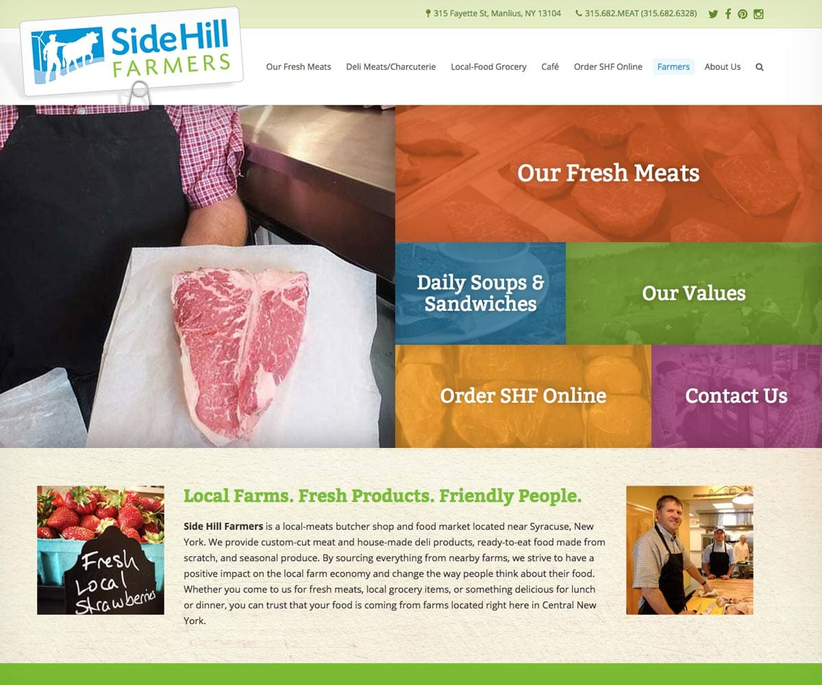 Side Hill Farmers homepage