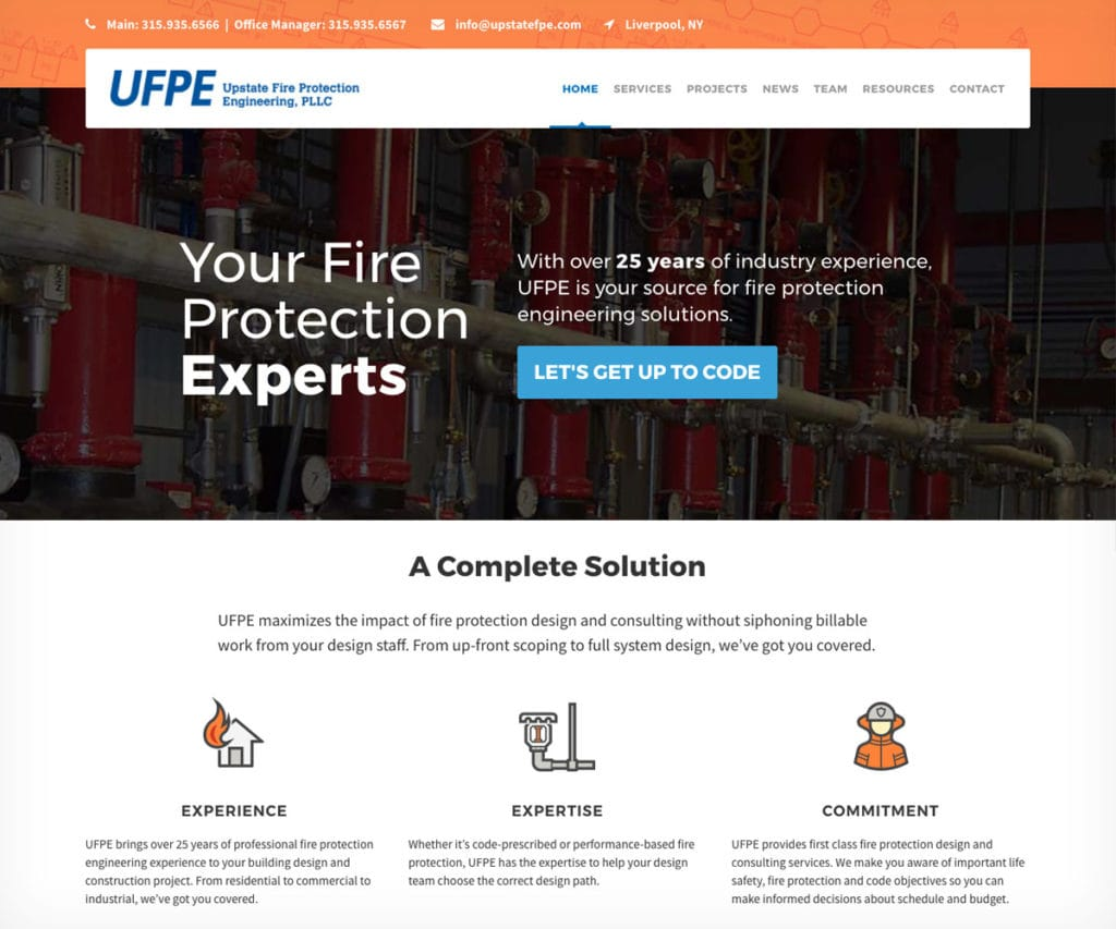 Upstate Website Design