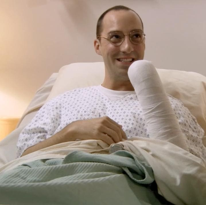 Buster Bluth missing a hand