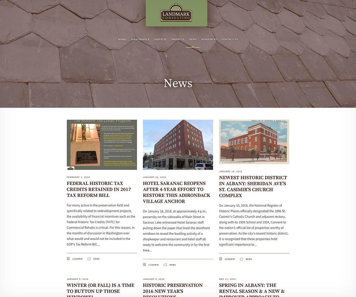 Landmark Consulting blog