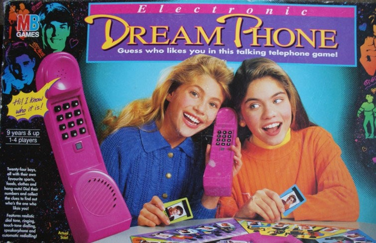 Dream Phone board game